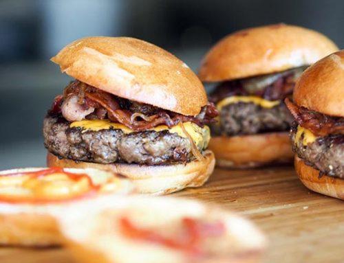 Hamburger caseiro é vida!