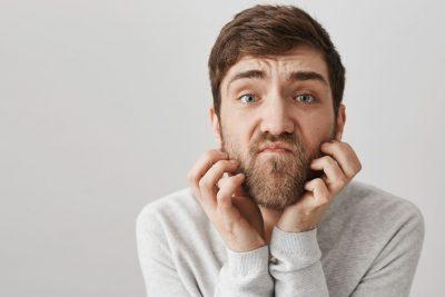 Barba Irritada